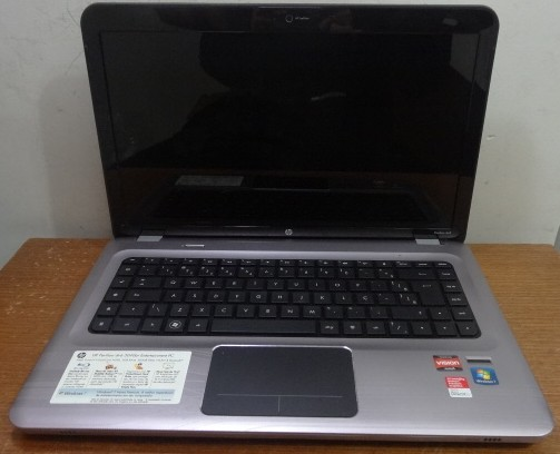 Notebook HP  Dv6 15.6'' AMD Turion II Dual Core 2.5GHz 4GB HD-500GB  Dedicada