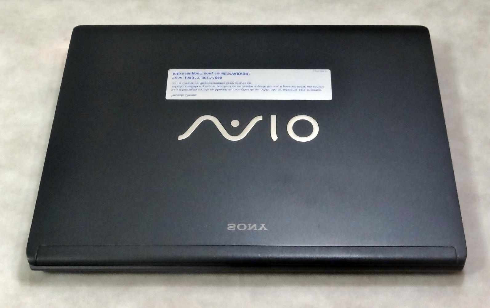 Notebook Sony Vaio VGN-SR150A 13.3