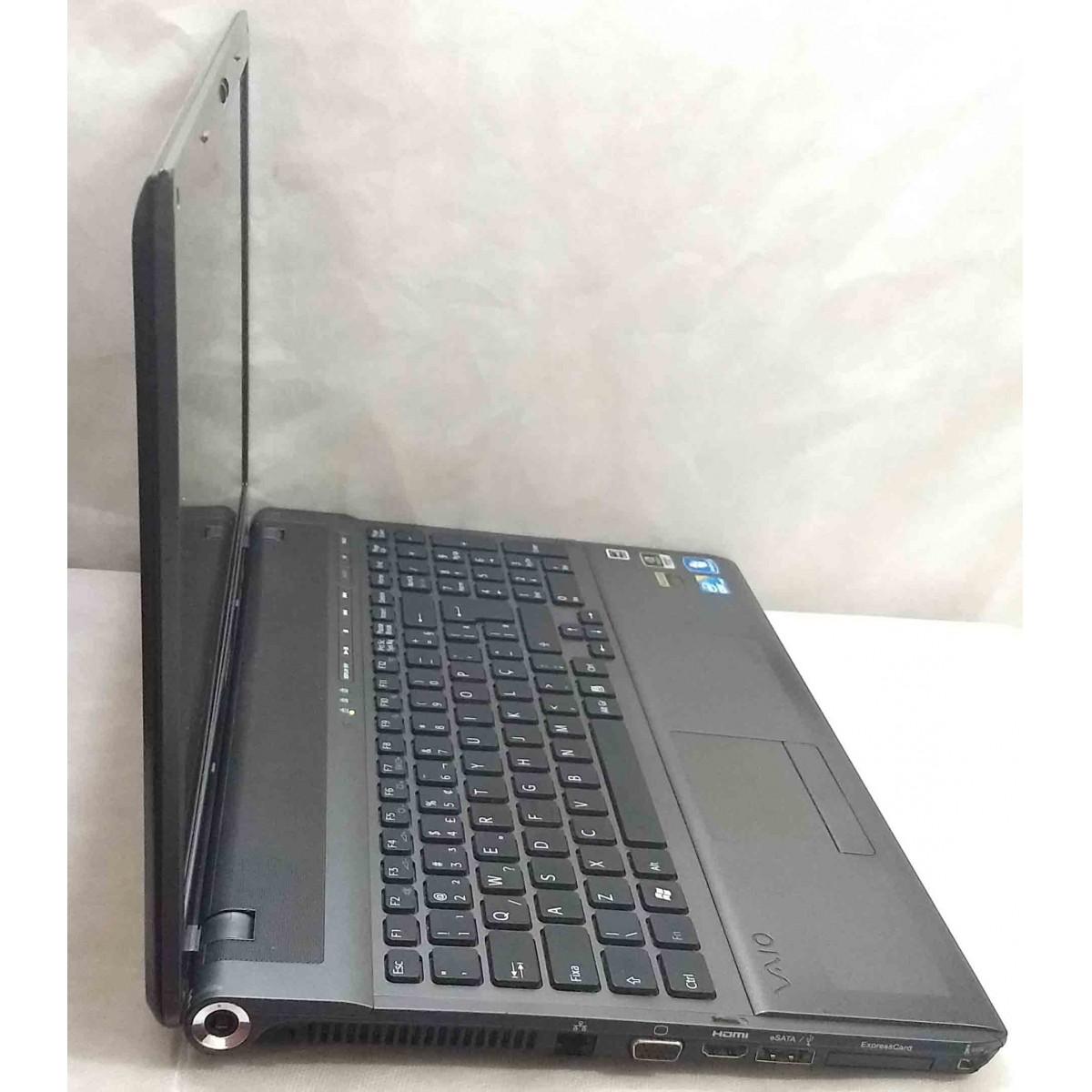 Notebook Sony Vaio VPC-F111FB 16.4'' Core i5 2.6GHz 6GB HD-320GB Alphanumérico|Dedicada