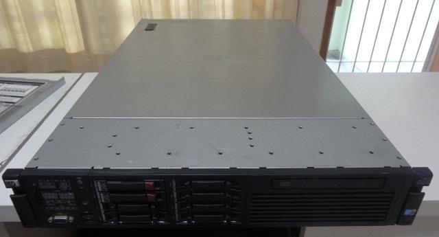 Servidor HP Proliant Dl380 G6 6GB 2 Processadores Intel Xeon 2 HDs-146GB