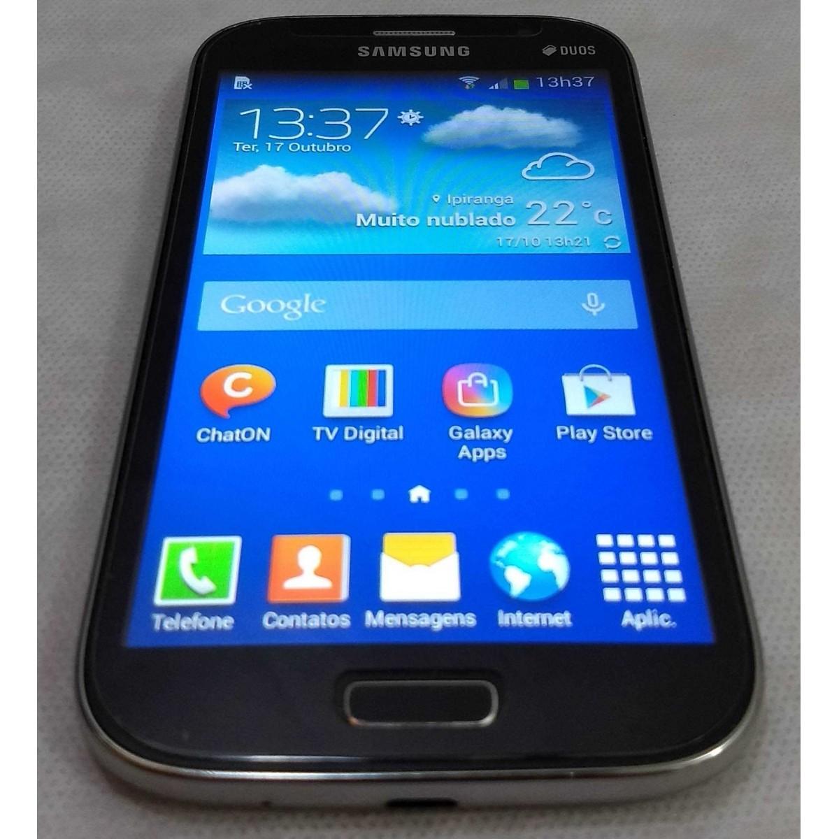 Smartphone Samsung Galaxy Gran Neo Duos 5'' TV 8GB GT-I9063T - Preto