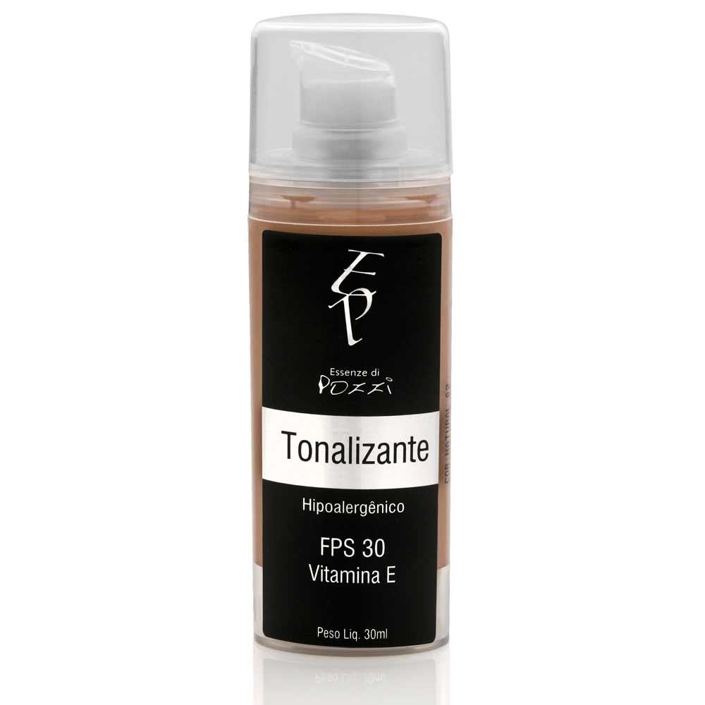 Tonalizante FPS 30 Natural - HIPOALERGENICO  - Essenze di Pozzi