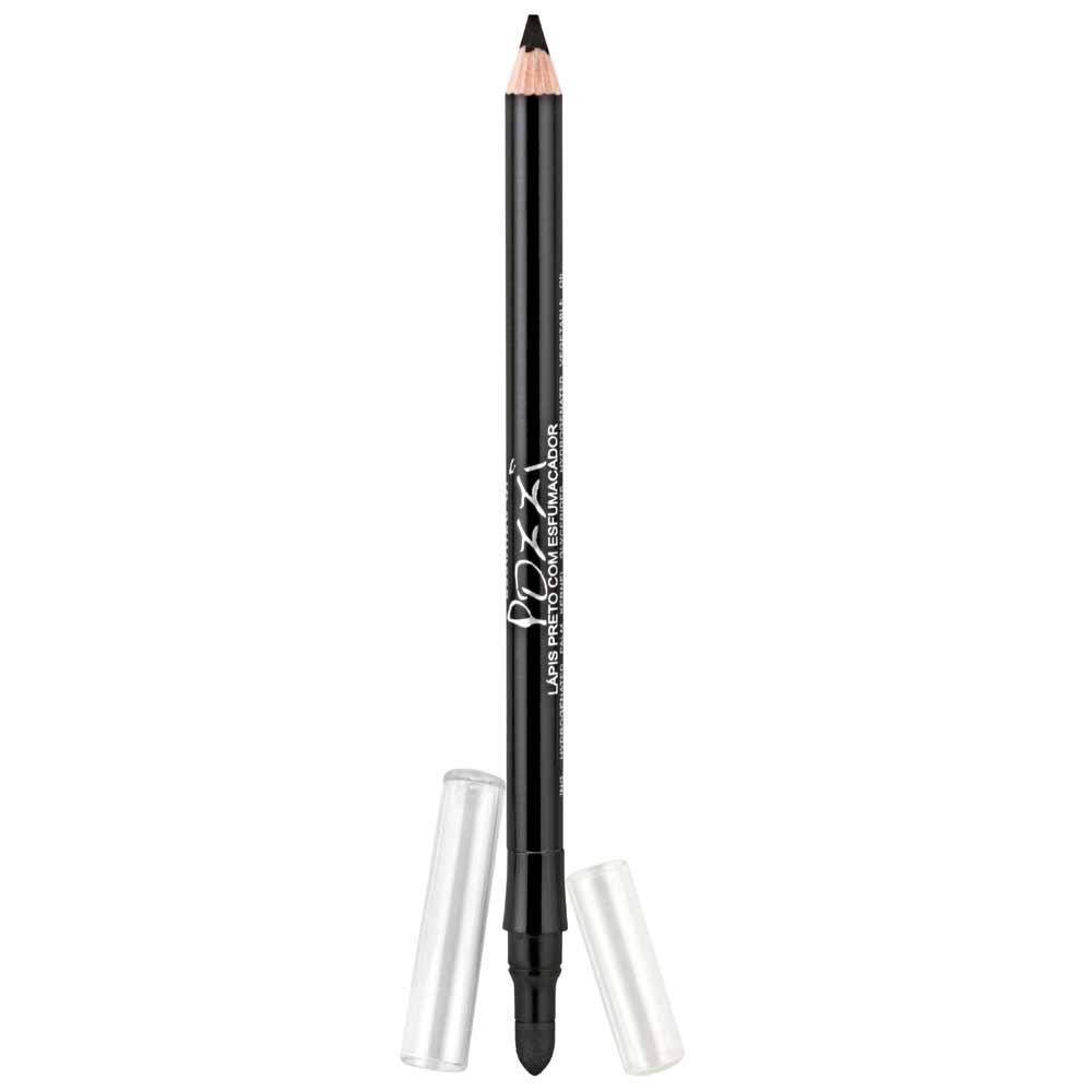 Lapis para Olhos N6 Super Preto com esfumador  - Essenze di Pozzi