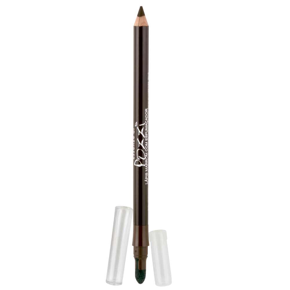 Lapis para Olhos N7 Marrom com esfumador  - Essenze di Pozzi
