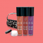 Kit Preferidos da Evelyn Regly - Batons Liquido Nude  Marsala  Velvet Grape  Lip Balm