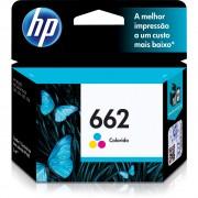 Cartucho HP Original 662 Colorido - PC FLORIPA