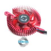Cooler P/ Placa de V�deo Universal Evercool VC-RI-R