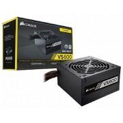 Fonte ATX Corsair 600W Real - VS600 - CP-9020119-LA - PFC Ativo - 80 Plus White - PC FLORIPA