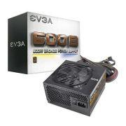 Fonte ATX EVGA 600W Real - 80 Plus Bronze - PC FLORIPA