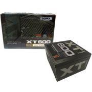 Fonte ATX XFX 600W Real - PFC Ativo - 80 Plus Bronze - PC FLORIPA