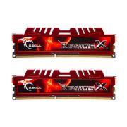 Kit Mem�ria 8 GB G.Skill RIPJAWS X (2x4) DDR3 1333 - F3-10666C
