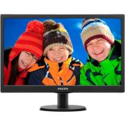 Monitor Philips 19,5 LED 203V5LHSB2 Widescreen - HDMI - VGA - PC FLORIPA