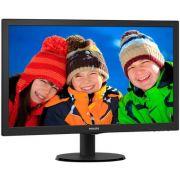 Monitor Philips 23 LED 233V5QHABP Widescreen - HDMI - VGA - PC FLORIPA