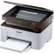 Multifuncional Samsung Laser SL-M2070W/XAB - Monocromático - Impressora - Copiadora - Scanner - Digitalização - Wireless - PC FLORIPA