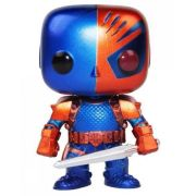 Funko Pop Deathstroke Px Exclusive Metálico - Dc Comics