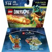 - Lego Dimensions Legend Of Chima - 71223 - Fun Pack 45 Peças