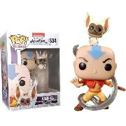 Funko Pop Avatar Aang With Momo # 534