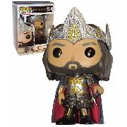 Funko Pop King Aragorn Exclusivo Lord Of The Rings