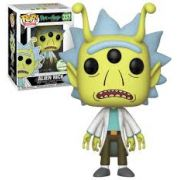 Alien Rick - Rick And Morty - Funko Pop ECCC