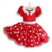 Fantasia Infantil Disney Minnie Luxo - Original Disney - Tamanho 4