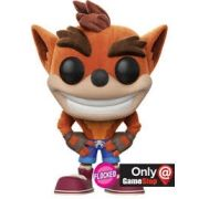 Funko Pop Crash Bandicoot Flocked Exclusivo GameStop