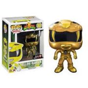 Funko Pop Power Ranger Amarelo Metalico Only GameStop
