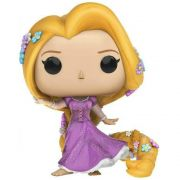 Rapunzel Funko Pop Disney com glitter Walmart