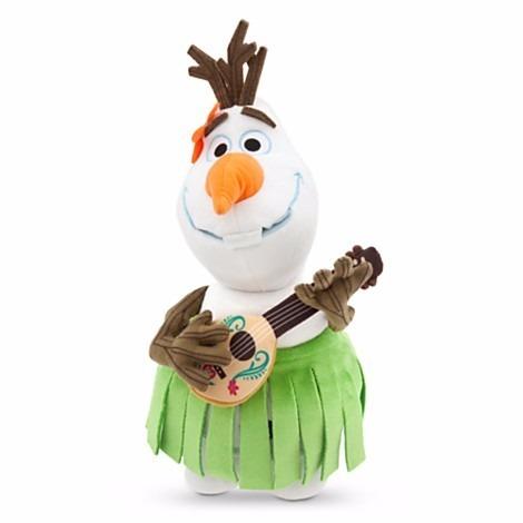 Pelúcia Disney Do Filme Frozen - Olaf Aloha Com 35 Cm