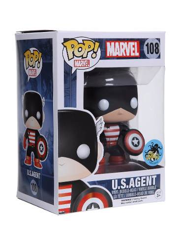Funko Pop U.s Agent - Marvel Exclusivo Comikaze New York Hot