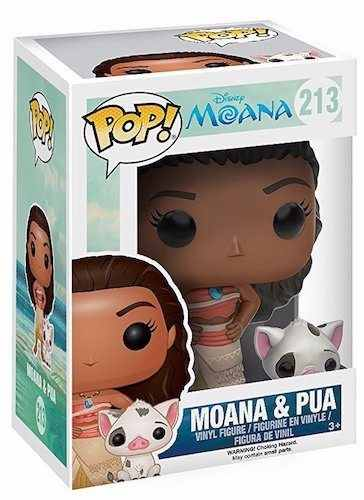 - Funko Pop Moana & Pua - Filme Moana Disney
