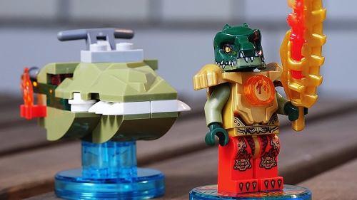 - Lego Dimensions Legend Of Chima - 71223 - Fun Pack 45 Peças