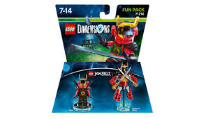 Lego Dimensions Ninjago 71216 Fun Pack 59 peças