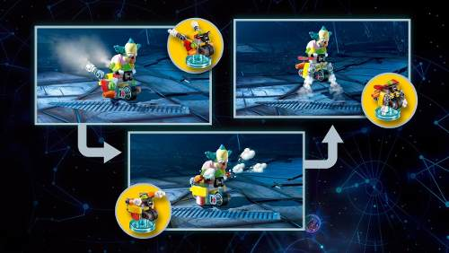Lego Dimensions Krust The Simpsons - Fun Pack 71227 Peças