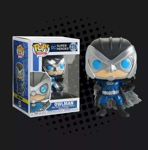 Funko Pop Dc Heroes Owlman Exclusivo Hot Topic # 276  - Game Land Brinquedos