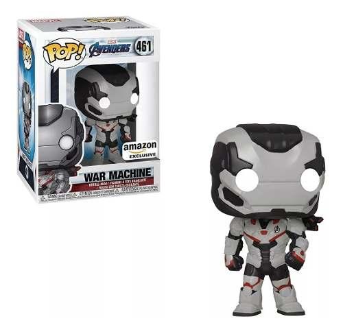 Funko Pop Marvel Avengers War Machine Exclusivo Amazon # 461  - Game Land Brinquedos