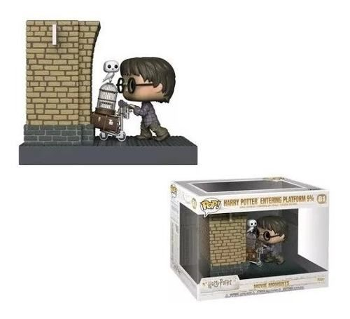 Funko Pop Harry Potter Movie Moments Plataforma Boxlunch  - Game Land Brinquedos