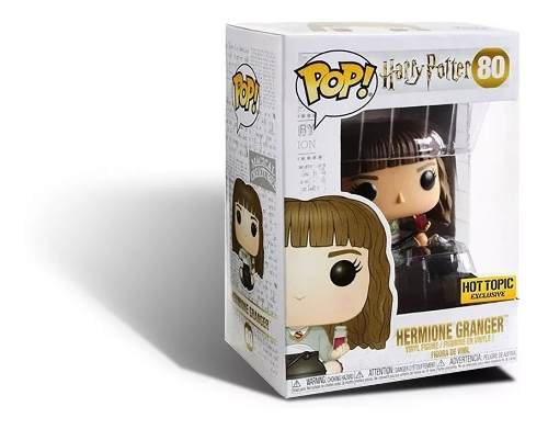 Funko Pop Harry Potter Hermione Granger Hot Topic # 80  - Game Land Brinquedos