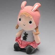Boneca Para Dormir Metoo Naughty Girl Bunny Coelho  - Game Land Brinquedos