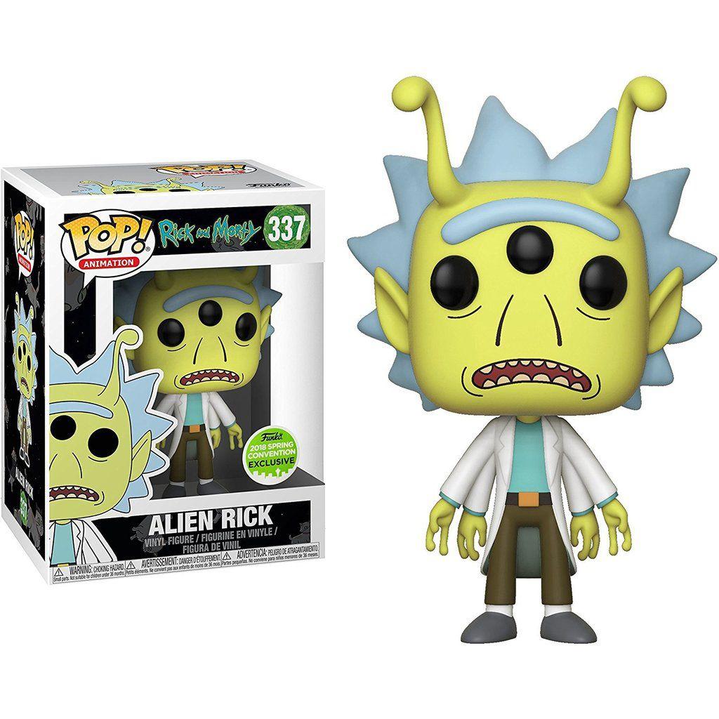Alien Rick - Rick And Morty - Funko Pop ECCC
