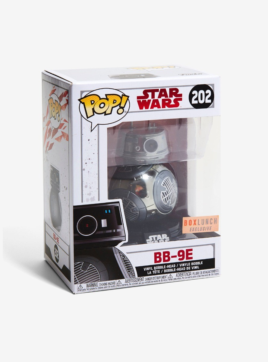 Bb9-E Funko Pop Star Wars #202 Exclusivo BoxLunch