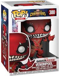 Boneco Funko Pop Marvel  Venompool  Gamerverse