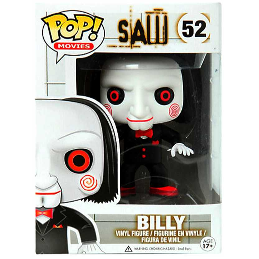 Funko Pop Billy Saw Jogos Mortais