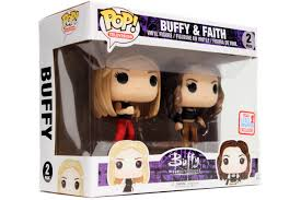 Funko Pop Buff A Caça Vampiros Buff & Faith Exclusivo NYCC