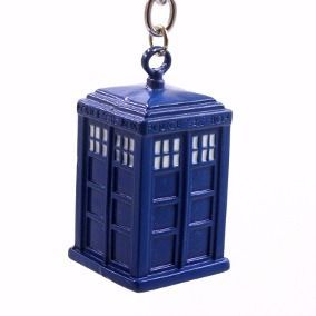 Funko Pop Chaveiro Doctor Who - Tardis