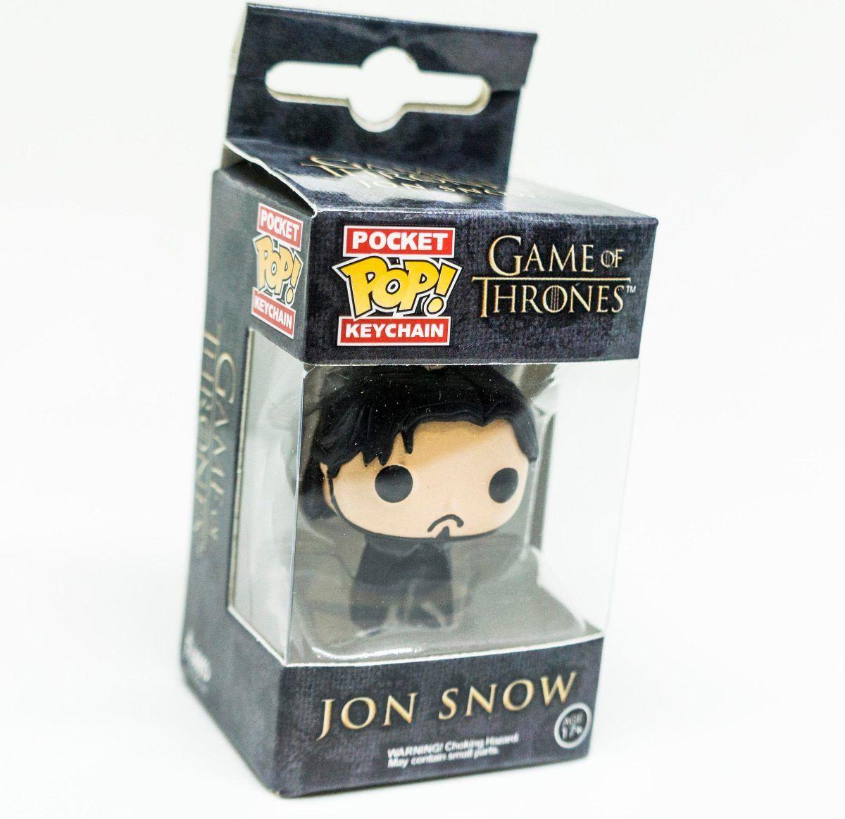 Funko Pop Chaveiro Game Of Thrones Jon Snow