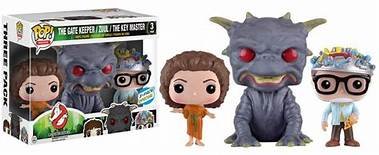Funko Pop Ghostbusters The Gate Keeper Zuul The Key Master