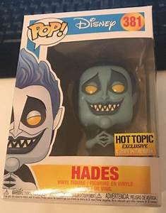 Funko Pop Hades Brilha no Escuro # 381 Hot Topic
