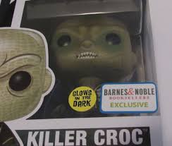 Funko Pop Killer Croc  Esquadrão Suicida  Exclusivo Barnes & Noble  Brilha no Escuro