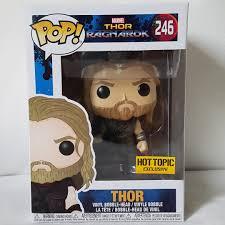Funko Pop Ragnarok Thor Marvel Hot Topic