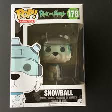 Funko Pop Rick And Morty - Snowball # 178